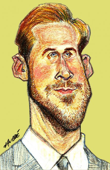 Ryan Gosling por daulle